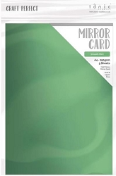 Tonic Studios - Craft Perfect Cardstock - Smooth Mint 5 sheets Mirror High Gloss 8.5