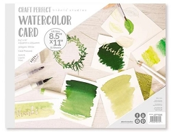 Tonic Studios - Craft Perfect Watercolor Cardstock - 8.5