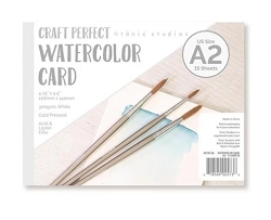 Tonic Studios - Craft Perfect Watercolor Cardstock - 4.25
