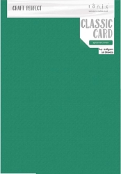 Tonic Studios - Craft Perfect Cardstock - Spearmint Green Classic Weave Texture 8.5