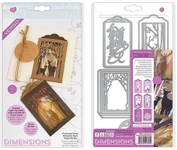 Tonic Studios - Dimensions Cutting Die - Enchanted Forest Silhouette Tag & Wallet Die Set