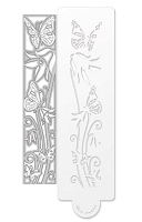 Tonic Studios - Cutting Die - Double Detail Bluebell Meadow Die & Stencil Set