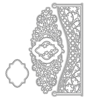 Tonic Studios - Cutting Die - Verso Tangled Trellis Decorative Mini Indulgence Die Set