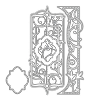 Tonic Studios - Cutting Die - Verso Garland Terrace Decorative Mini Indulgence Die Set