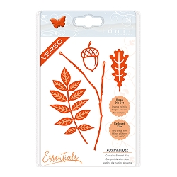 Tonic Studios - Cutting Die - Essentials Autumnal Oak die set