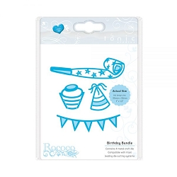 Tonic Studios - Cutting Die - Rococo Celebrations Birthday Bundle Die set