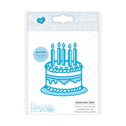Tonic Studios - Cutting Die - Rococo Celebrations Birthday Cake Die