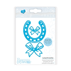 Tonic Studios - Cutting Die - Rococo Celebrations Lucky Horseshoe Die