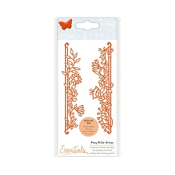 Tonic Studios - Cutting Die - Essentials Fanciful Florals Posy Pillar Strips die