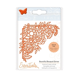 Tonic Studios - Cutting Die - Essentials Fanciful Florals Bountiful Bouquet Corner die
