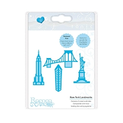Tonic Studios - Cutting Die - New York Landmarks