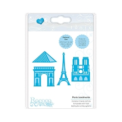 Tonic Studios - Cutting Die - Paris Landmarks