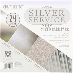 Tonic Studios - Silver Service Mixed Card 6