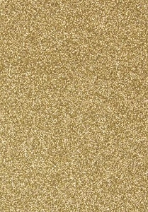 Tonic Studios - Craft Perfect Cardstock - 5 sheets Glitter Gold Dust 8.5