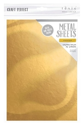 Tonic Studios - Craft Perfect Metal Sheets - A4 Empire Gold (8.25