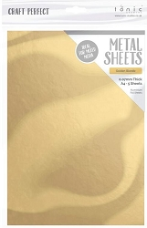 Tonic Studios - Craft Perfect Metal Sheets - A4 Golden Blonde (8.25