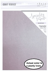 Tonic Studios - Craft Perfect Specialty Paper - A4 Seashell Sand (8.25