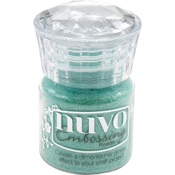Tonic Studios - Nuvo Embossing Powder - Ocean Sparkle