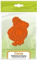 Tonic Studios - Cling Stamp - Fairies Reflection Cerys