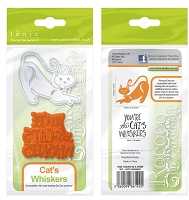 Tonic Studios - Cutting Die - Rococo Pampered Pets Cat's Whiskers