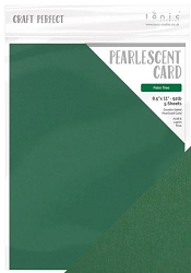 Tonic Studios - Craft Perfect Cardstock - Palm Tree 5 sheets Pearlescent Cardstock 8.5