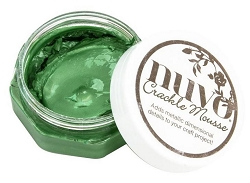 Tonic Studios - Nuvo Crackle Mousse - Chameleon Green