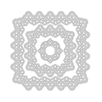 Tonic Studios - Cutting Die - Verso Gothic Border Square Die Set