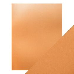 Tonic Studios - Craft Perfect Cardstock - Copper Mine 5 sheets Mirror Satin Effect 8.5