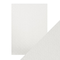 Tonic Studios - Craft Perfect Luxury Embossed Cardstock - A4 Pearl Ripple (8.25