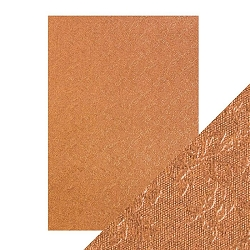 Tonic Studios - Craft Perfect Luxury Embossed Cardstock - A4 Copper Rose (8.25