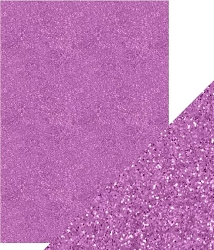 Tonic Studios - Craft Perfect Cardstock - 5 sheets Glitter Berry Fizz 8.5