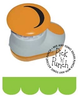 Tonic Studios - Pick n' Punch Edger Punch - Scallop Accent