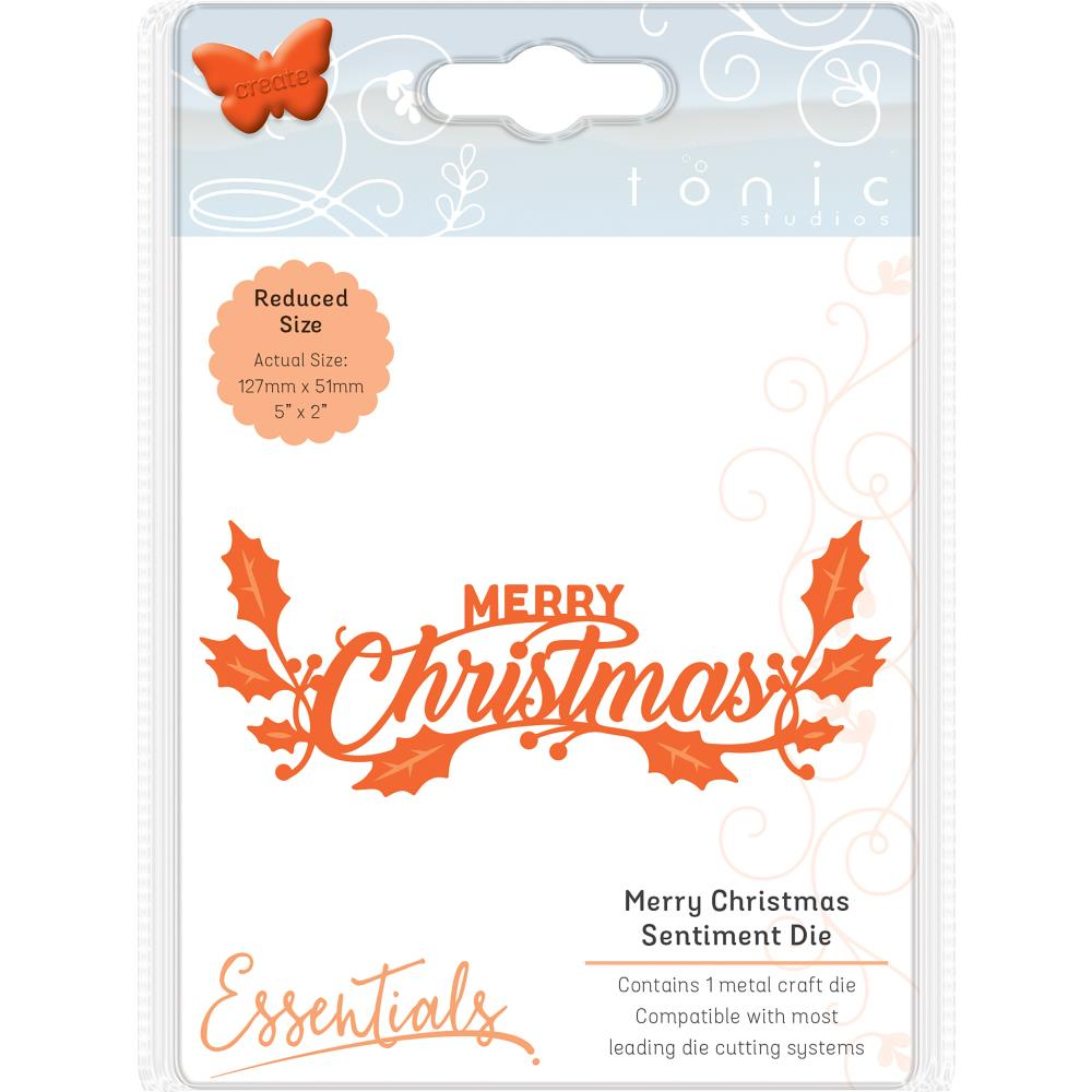 Tonic Studios - Christmas Sentiment Cutting dies