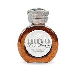 Tonic Studios - Nuvo Glitter - Spiced Apricot