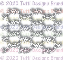 Tutti Designs - Cutting Die - Twisted Rope Background