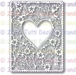Tutti Designs - Cutting Die - Floral Heart Frame