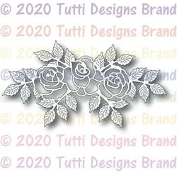 Tutti Designs - Cutting Die - Rose Trio