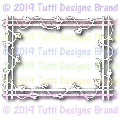 Tutti Designs - Cutting Die - Bamboo Frame