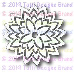 Tutti Designs - Cutting Die - Asian Lotus Flower