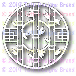 Tutti Designs - Cutting Die - Bamboo Coin