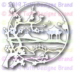 Tutti Designs - Cutting Die - Asian Landscape