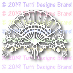 Tutti Designs - Cutting Die - Floral Fan