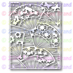 Tutti Designs - Cutting Die - Fan Background