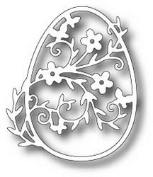 Tutti Designs - Cutting Die - Floral Daisy Egg