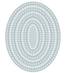 Tutti Designs - Cutting Die - Nesting Cross Stitch Ovals