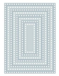 Tutti Designs - Cutting Die - Nesting Cross Stitch Rectangles