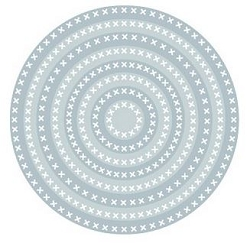 Tutti Designs - Cutting Die - Nesting Cross Stitch Circles