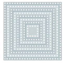 Tutti Designs - Cutting Die - Nesting Cross Stitch Squares