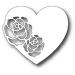 Tutti Designs - Cutting Die - Two Rose Heart