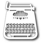 Tutti Designs - Cutting Die - Love Typewriter